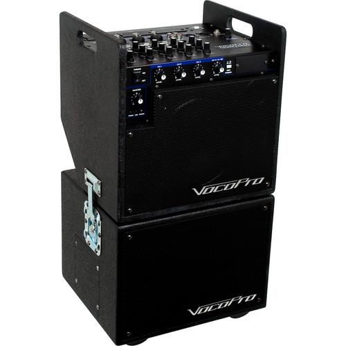 VocoPro MOBILMAN - Karaoke System - w/ DKP-3 Compact SD Card Karaoke Player