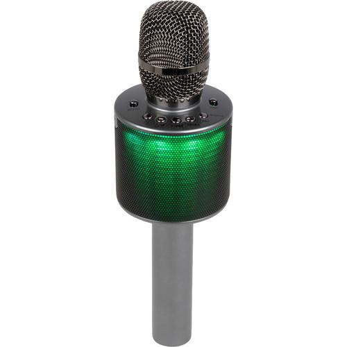 VocoPro Pop-Up Oke Wireless Karaoke Microphone with Light Show Speaker