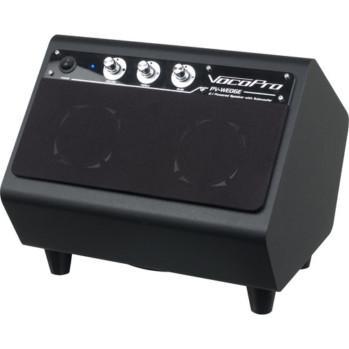 VocoPro 100W 2.1 Power Speaker with Built-In Subwoofer