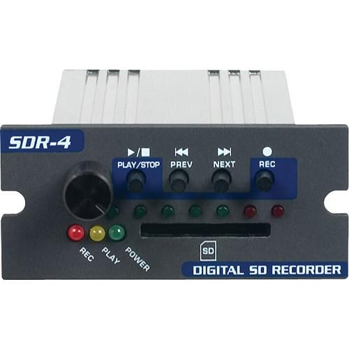 VocoPro SDR-4 Digital SD Card Recorder Module