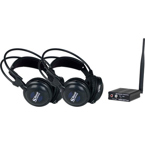 VocoPro SilentSymphony-DUO Wireless Audio Broadcast and Headphone System
