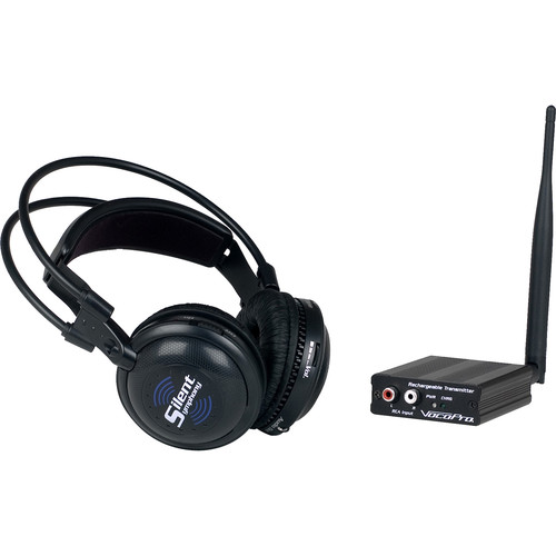 VocoPro SilentSymphony-SOLO Wireless Audio Broadcast & Headphone System