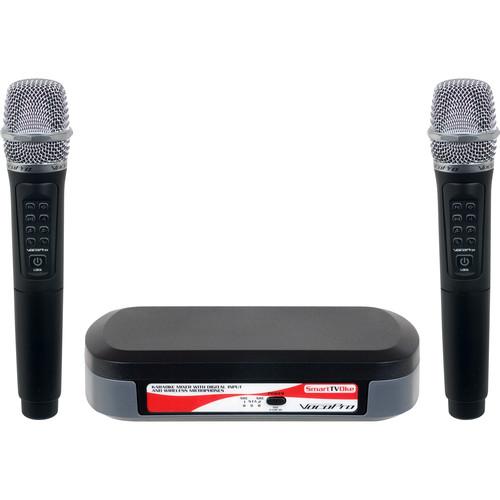 VocoPro SmartTVOke Karaoke Mixer with Digital Input and Wireless Microphones