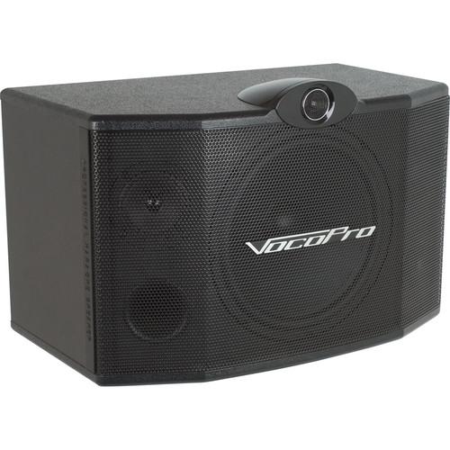 """VocoPro SV-500 10"""" 3-Way Vocal Speaker (Pair)"""