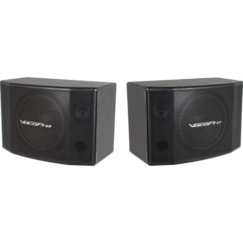 """VocoPro SV-600 12"""" 2-Way Vocal Speaker (Pair)"""