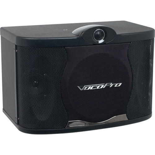 "VocoPro SV Series SV-408 8"" 3-Way Vocal Speakers (Pair)"