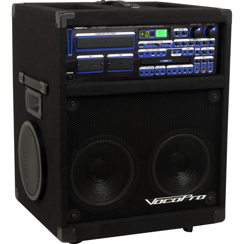 VocoPro Twister-7000 250W Professional Variable-Speed CD/CD+G Karaoke System with Digital Reverb
