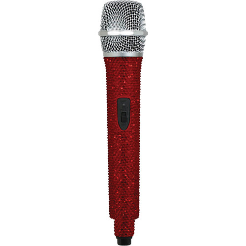 VocoPro U-DIAMOND Ruby-Studded UHF Wireless Microphone (N: Channel 49 - 685.960 MHz)