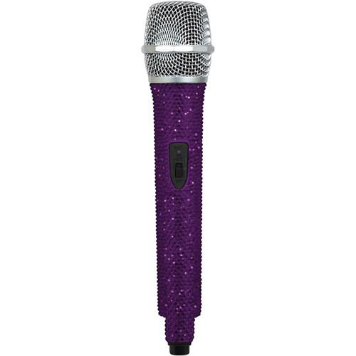 VocoPro U-DIAMOND Amethyst-Studded UHF Wireless Microphone (O: Channel 51 - 694.110 MHz)