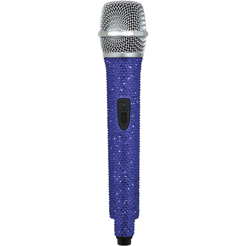 VocoPro U-DIAMOND Sapphire-Studded UHF Wireless Microphone (Q: Channel 48 - 676.740 MHz)