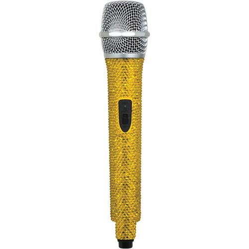 VocoPro U-DIAMOND Amber-Studded UHF Wireless Microphone (S: Channel 38 - 619.120 MHz)