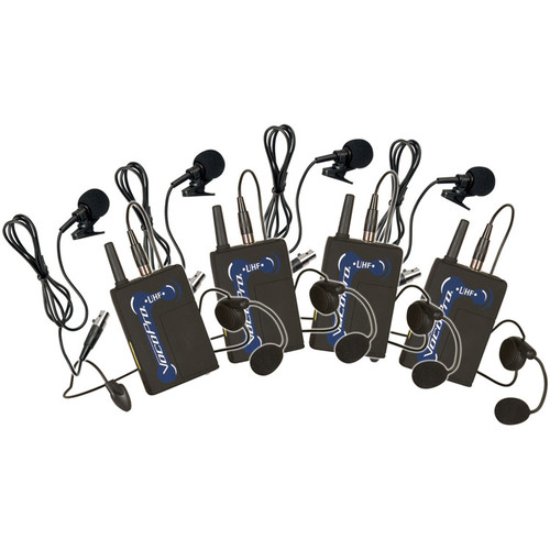 VocoPro UBP-12 900 MHz UHF Wireless Bodypack Microphone Set