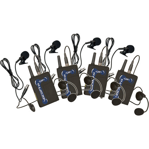 VocoPro UBP-5 UHF Wireless Bodypack Microphone Set for UHF-5800 & 8800 Wireless Microphone Systems