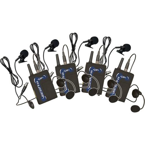 VocoPro UBP-5 UHF Wireless Bodypack Microphone Set for UHF-5800 & 8800 Wireless Microphone Systems