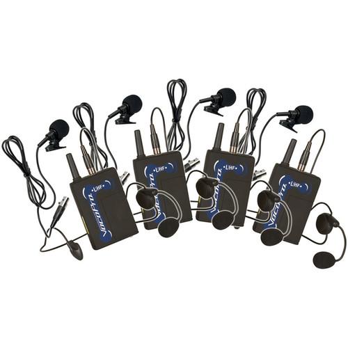 VocoPro UBP-9 900 MHz UHF Wireless Bodypack Microphone Set