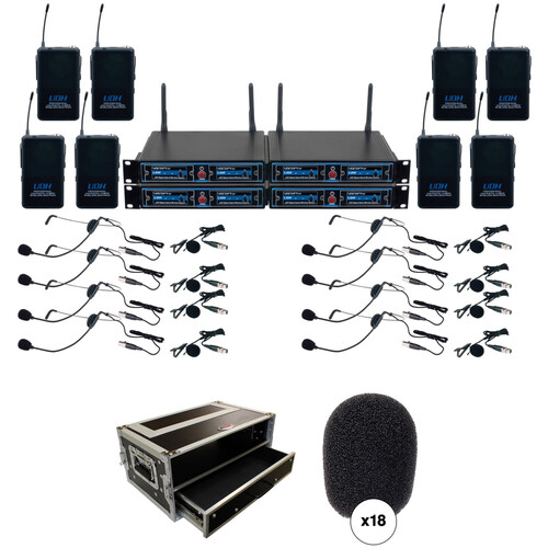 VocoPro UDH-PLAY 8 Kit with Carry Bag and Windscreens