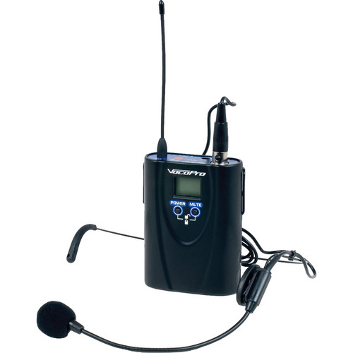 VocoPro UHF-5900-BP Headset Mic and Bodypack Transmitter