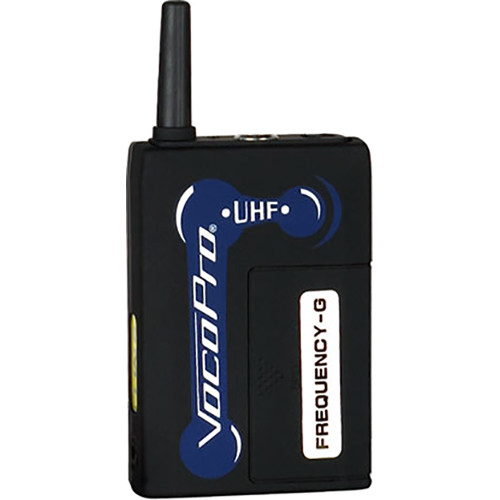 VocoPro Replacement Body Pack Transmitter for UHF-5800 (Ch 51: 694.110 MHz)