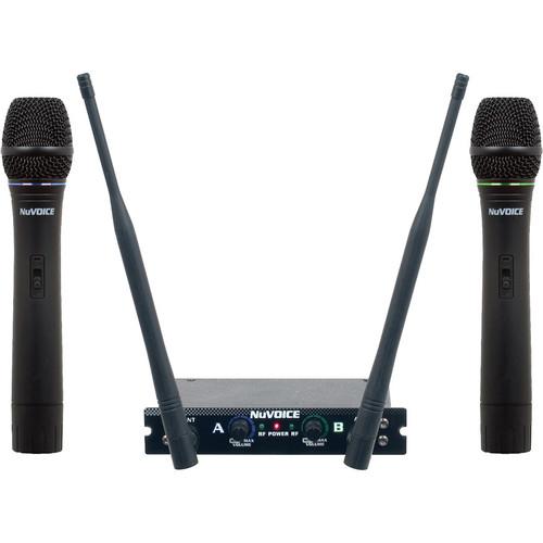 VocoPro V-280 Dual Channel Handheld VHF Wireless System (AB)