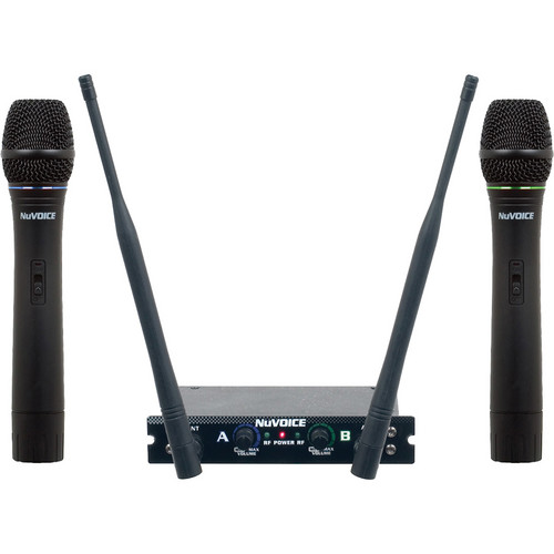 VocoPro V-280 Dual Channel Handheld VHF Wireless System (EF)