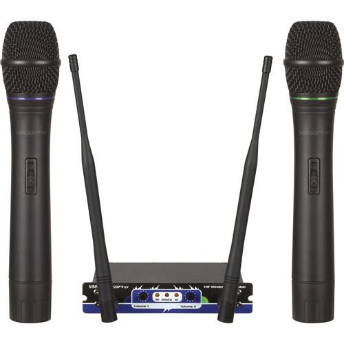 VocoPro VHF-MODULE 2-Channel Wireless Mic Module for SOUNDMAN, CHAMPION-RV, and HERO-RV (VHF A, B)
