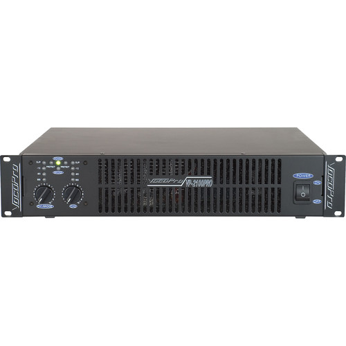 VocoPro 2000W Professional Digital Switching Power Amplifier (2 RU)