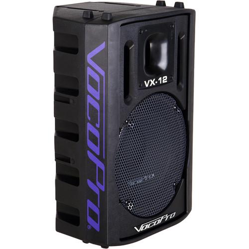 """VocoPro VX-12 Professional 12"""" 2-Way 500W Vocal Speaker"""