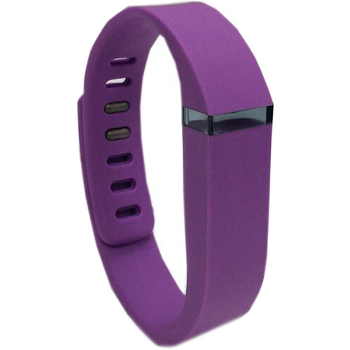 Voguestrap Smart Buddie Replacement Band for Fitbit Flex (Small, Purple)