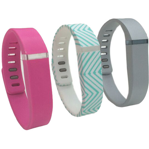 Voguestrap Smart Buddie Replacement Bands for Fitbit Flex (3-Pack)