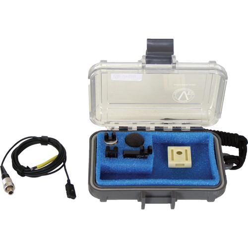 Voice Technologies VT506 Waterproof Miniature Omni Lavalier Microphone with Lemo 3-Pin Connector for Sennheiser SK50/2000 Series/Audio Ltd. miniTX/Zaxcom (Black)