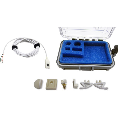 Voice Technologies VT506WA Water Adventure Miniature Lavalier Microphone with Pigtail (White)