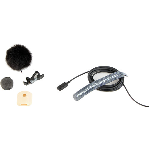 Voice Technologies 20th Anniversary Limited Edition VT500WATER Waterproof Omnidirectional Lavalier Microphone (TA5F Connector, Black)