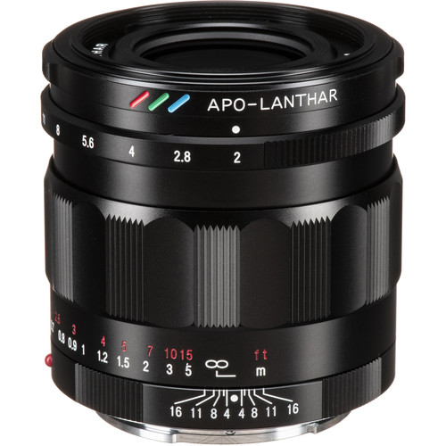 Voigtlander APO-LANTHAR 50mm f/2 Aspherical Lens for Sony E