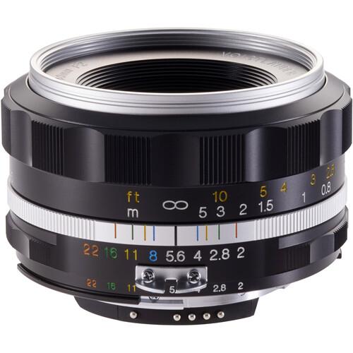 Voigtlander Ultron 40mm f/2 SL IIS Aspherical Lens for Nikon F (Silver Rim)