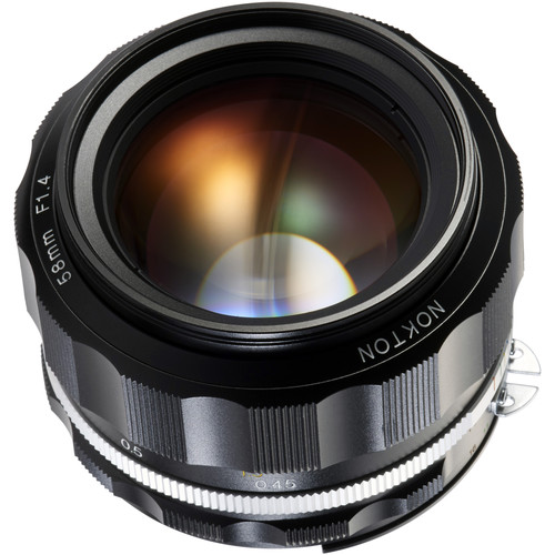 Voigtlander Nokton 58mm f/1.4 SL II S Lens (Black)