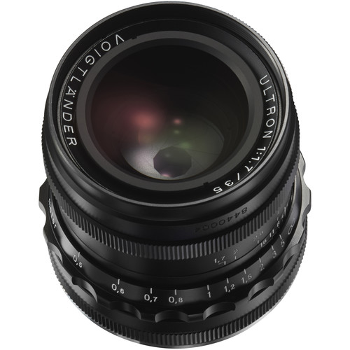 Voigtlander Ultron 35mm f/1.7 Aspherical Lens (Black)