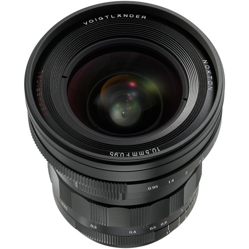 Voigtlander Nokton 10.5mm f/0.95 Lens for Micro Four Thirds