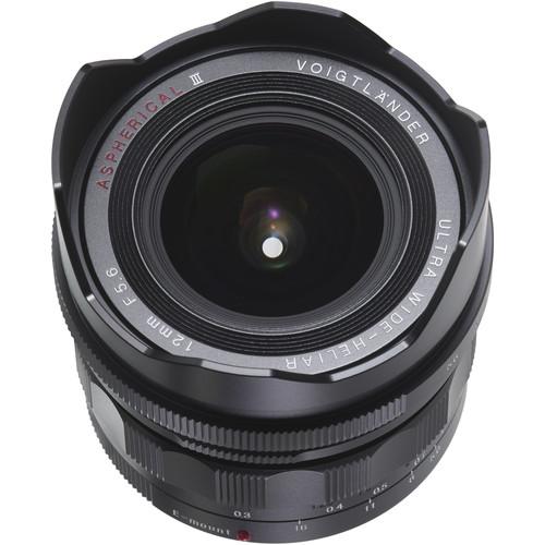 Voigtlander Ultra Wide-Heliar 12mm f/5.6 Aspherical III Lens for Sony E