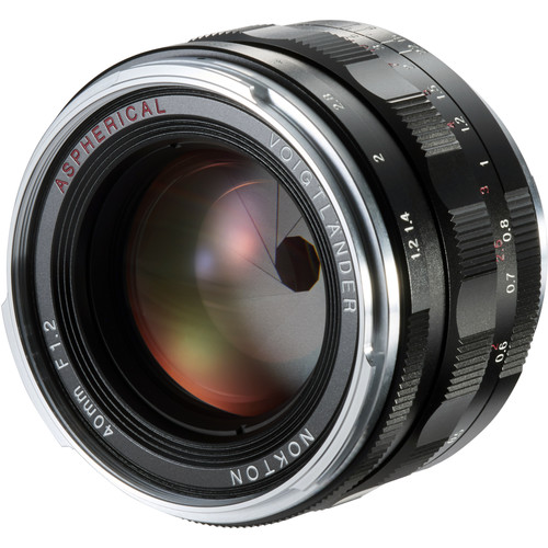 Voigtlander Nokton 40mm f/1.2 Aspherical Lens