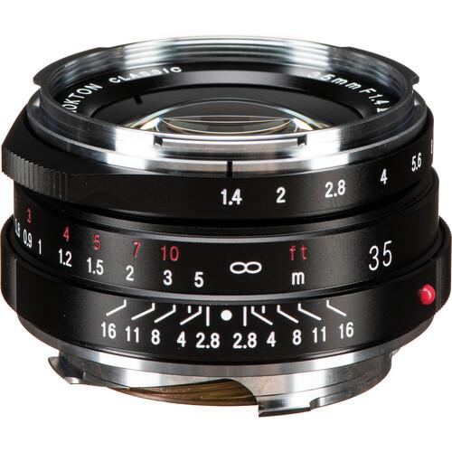 Voigtlander Nokton Classic 35mm f/1.4 II MC Lens