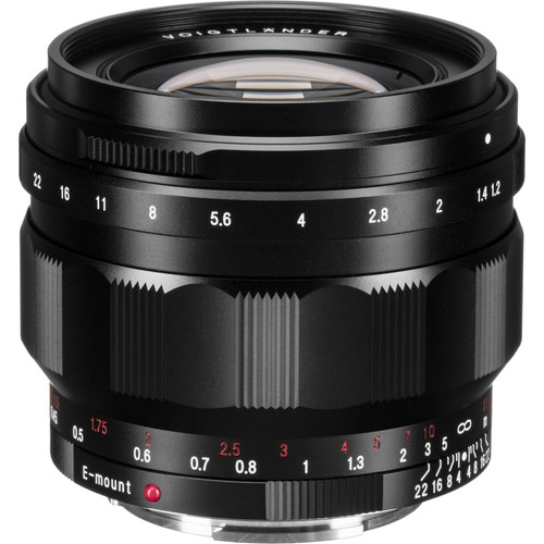 Voigtlander Nokton 50mm f/1.2 Aspherical Lens for Sony E