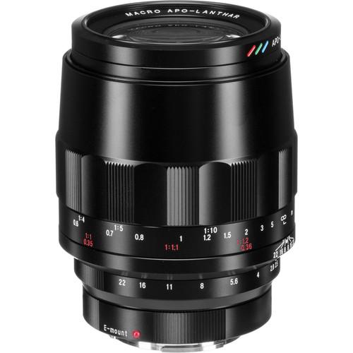 Voigtlander MACRO APO-LANTHAR 110mm f/2.5 Lens for Sony-E