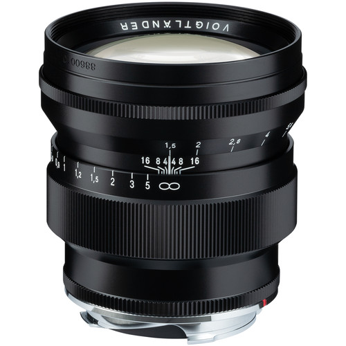 Voigtlander Nokton 75mm f/1.5 Aspherical Lens (Black)