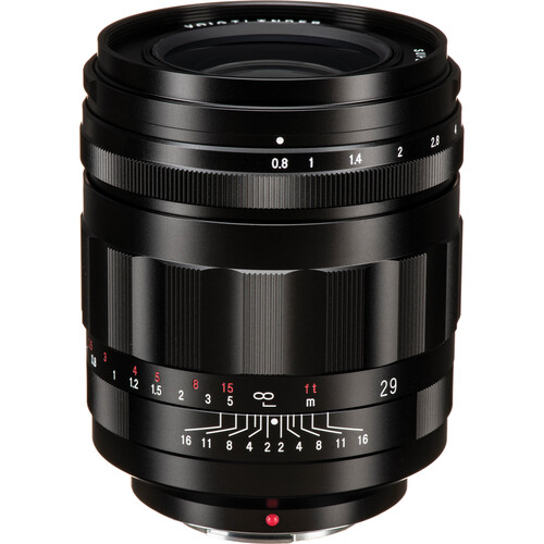 Voigtlander Super Nokton 29mm f/0.8 Aspherical Lens for Micro Four Thirds