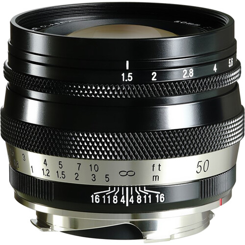 Voigtlander Heliar Classic 50mm f/1.5 Lens