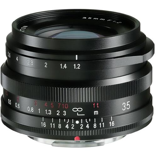 Voigtlander Nokton 35mm f/1.2 X Lens for FUJIFILM X