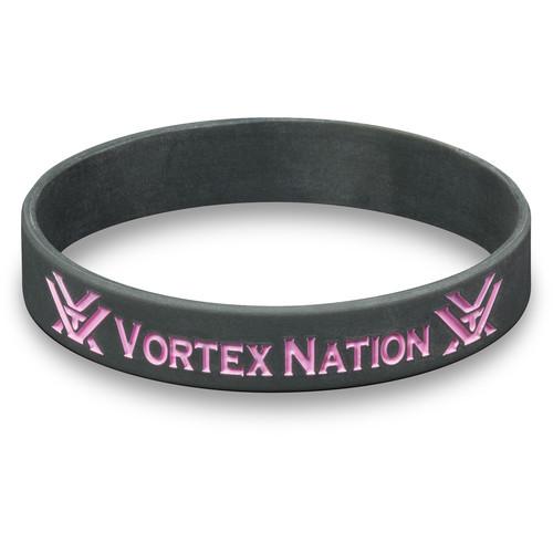 """Vortex """"Vortex Nation"""" Wristband (Gray/Pink)"""