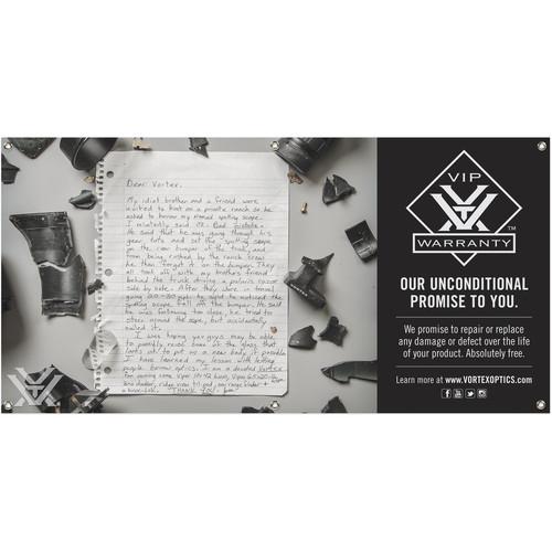 Vortex VIP Story Banner (4 x 2')