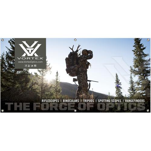 Vortex Hunting Observe Banner (4 x 2')