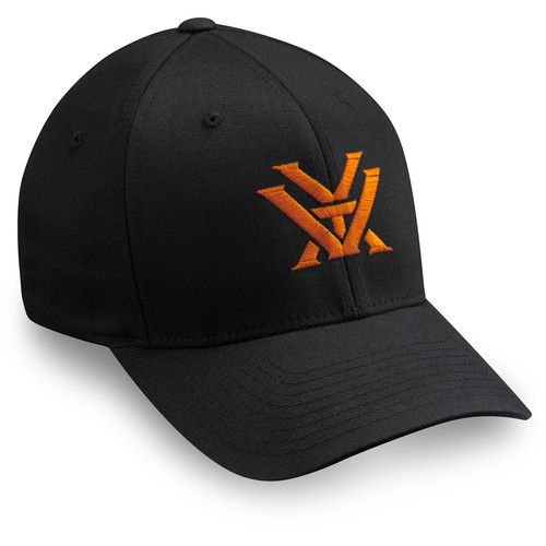 Vortex Flex Fit Cap (Black, Large/Extra Large)